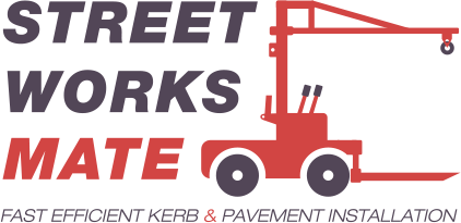 Street Works Mate -  for fast efficient kerb and pavement installation